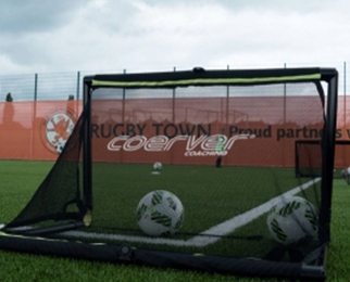 4-er Pack: Portables Fußball-Tor (Bazooka-Goal)